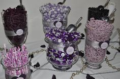 Purple candy bar...I LIKE THIS CUTE AND SIMPLE