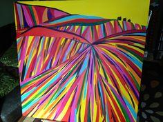 New huge abstract piece in progress by EmmaJLock