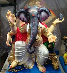 God of ganesha Jai Ganesh, Ganesh Lord, Ganesh Idol, Shree Ganesh, Ganesha Art, Clay Ganesha, Shri Ganesh Images, Ganesh Chaturthi Images, Ganesha Pictures
