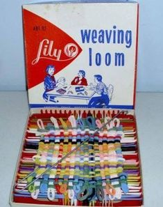 """Vintage """"Lily"""" Weaving Loom - Make Old Fashioned Pot Holders My Childhood Memories, Childhood Toys, Great Memories, 1970s Childhood, School Memories, School Days, Retro Toys, Vintage Toys, Vintage Games"""