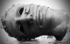 Mask photographed by HolySee taken in Krakow, Poland Creeper Style, Visit Poland, Sculptures, Lion Sculpture, Krakow Poland, Love Art, Sculpting, Statue, Goats