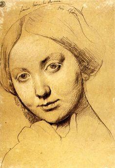 Jean Auguste Ingres (1780-1867, France)