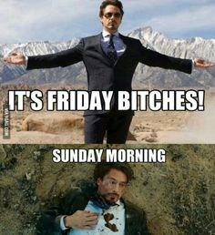 Tony Stark, Iron Man, friday humor