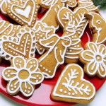 Hungarian Christmas honey cookies w recipes for both cookies and icing, made w the girls 11/13