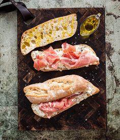 Broodje parmaham recept   Miljuschka.nl