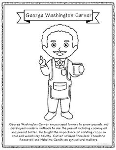 george washington carver coloring page - happy easter poster homeschooling for jesus pinterest