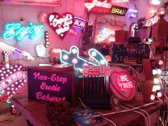 Gods own junkyard - neon lights for events