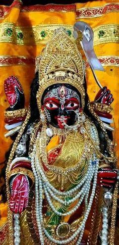 Maa Durga Photo, Durga Kali, Kali Hindu, Indian Goddess Kali, Durga Goddess, Indian Gods, Jay Maa Kali, Kali Mata, Maa Kali Images
