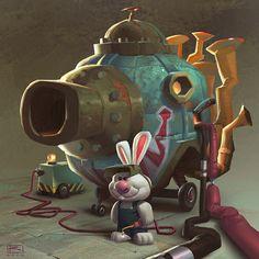 Bunny tank garage:) | Use Instagram online! Websta is the Best Instagram Web Viewer!