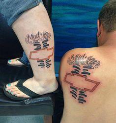 Matching Couples Mud Life tattoos by Dani