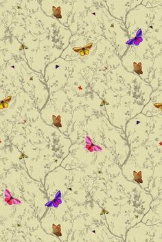 Butterflies by Timorous Beasties