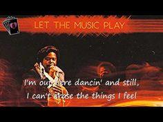 ▶ Barry White - Let The Music Play - LYRICS - YouTube