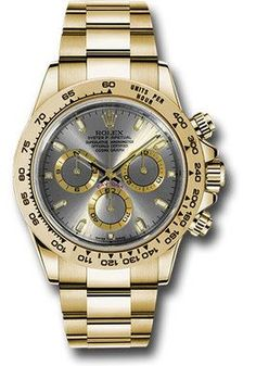 Rolex Watches: Daytona Yellow Gold - Bracelet 116508 sti