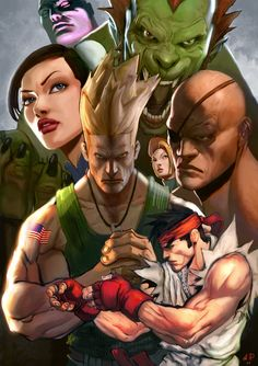 Street Fighter 2 by Alexandr Pascenko