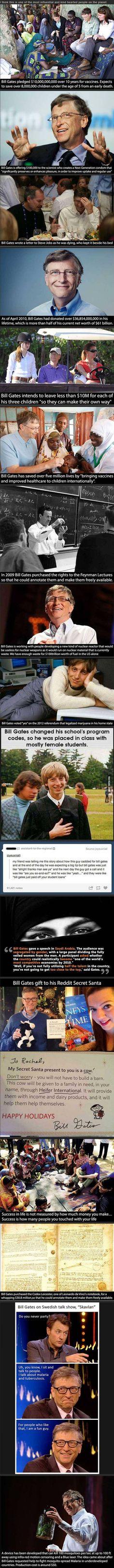 Bill Gates, everybody.