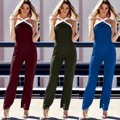 AUTUMN SEXY WOMEN WEAR NEW CROSS HALTER SLEEVELESS PARTY WEAR SLIM BLACK NUDE BANDAGE JUMPSUITS HIGH QUALITY ROMPERS