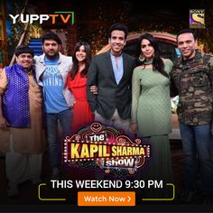 Watch the latest episodes of popular Sony Entertainment APAC show, The Kapil Sharma Show through YuppTV. Access all the latest Hindi TV shows and videos through Catch-Up TV. Online Lottery, Lottery Numbers, Kapil Sharma, Sony Tv, Tv Shows, Channel, It Cast, Entertaining, Live