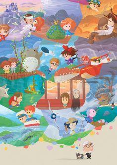 Miyazaki Fresco by Orioto on deviantART