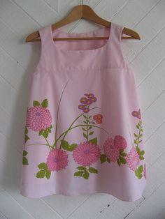 sweet vintage sheet dress