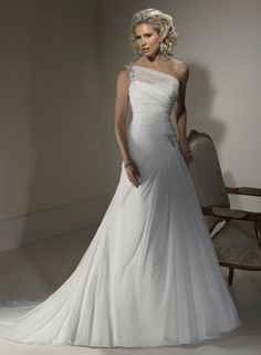 Designer Wedding Dress Maggie Sottero Mona J1400