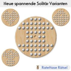 Das Solitär Brettspiel ist ein spannendes Spiel für eine Person.   Durch geschicktes überspringen von Spielsteinen werden nach und nach die übersprungenen Steine vom Spielbrett entfernt.   Im besten Fall bleibt nur ein Stein übrig. Solitär wird meistens auf dem sogenannten englischen Brett gespielt. Bei ratehase.de findest Du 9 weitere spannende und unterhaltsame Spiel Brett Varianten.