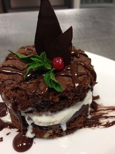 #chocolatebrownie available here at Hemingway's from 11-22 April