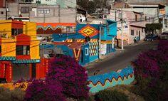 Galeria de Intervenção Urbana: Coletivo Boa Mistura invade com cores a Colonia Las Américas - 15