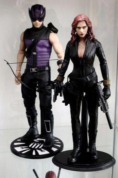 Hawkeye, Black Widow - Avengers