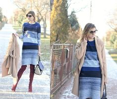 Get this look: http://lb.nu/look/8530909  More looks by Kamila Z: http://lb.nu/user/1553987-Kamila-Z  Items in this look:  Shein Sweater, Shein Skirt, Lovely Wholesale Coat, Lovely Wholesale Shoes, Lovely Wholesale Bag, Lovely Wholesale Earrings   #chic #minimal #preppy #shein #ootd #winter #lovelywholesale #outfit #look