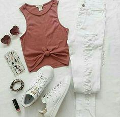 Look, #bohemio, #jeans, #cute, #comodo, #fashion, #casual, #moda, #outfits, #estilo, #informal, #adidas