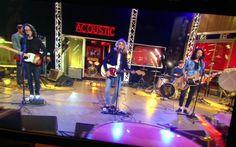 Le trio #TheoPaulGab est sur le plateau de #tv5acoustic ! En diff. le 16 mai sur #TV5MONDE .