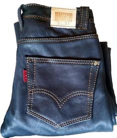 Hey, I found this really awesome Etsy listing at https://www.etsy.com/listing/238790917/levi-style-custom-leather-jeans-leather