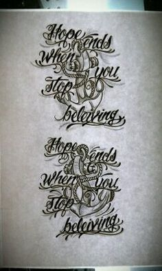Anchor tattoo and quote Anchor Tattoos, Tribal Tattoos, Tattoo Quotes, Art, Art Background, Kunst, Performing Arts, Inspiration Tattoos, Navy Anchor Tattoos