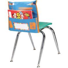 Store More® Early Childhood Picture Cue Chair Pockets