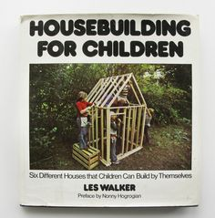 Vintage 1970's Housebuilding for Children Book - yes, i will be doing this with my kids.