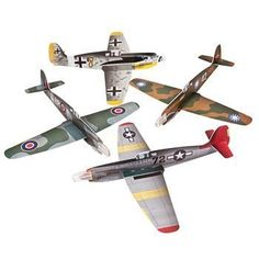 Large War Plane Gliders - Games & Activities & Flying Toys & Gliders, 2015 Amazon Top Rated Airplane Construction Kits #Toy