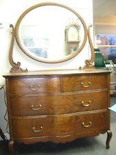 Nice antique oak low boy dresser.