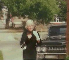 Gif marilyn monroe attending christening of clark gable s son 1961