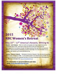Examples Of Flyers For Kickoff Women Ministry Christian