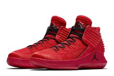 Air Jordan 32 'Rosso Corsa' Detailed Pictures - EU Kicks: Sneaker Magazine