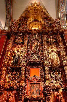 Inside Tepotzotlan