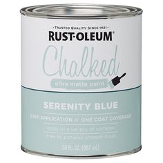 Rustoleum has chalked paint.... hip hip horray