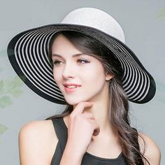 ffa40fc6c18 Wide brim sun hat with bow outdoor wear ladies straw hats package design