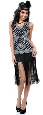 New Style Exports flapper dress | More here: http://mylusciouslife.com/shopping-inspired-by-the-great-gatsby/