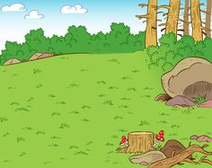 Find Illustration Shows Forest Clearing Summer Season stock images in HD and millions of other royalty-free stock photos, illustrations and vectors in the Shutterstock collection. Thousands of new, high-quality pictures added every day. Backdrop Frame, Backdrops, Scenery Drawing For Kids, Biomes, Backrounds, Paper Background, Views Album, Habitats, Decoration