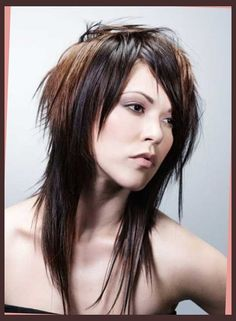 15+ funky long haircuts | hairstyles & haircuts 2014   2015 regarding long choppy emo hairstyles long choppy emo hairstyles Regarding   Existing beauty