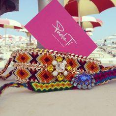 Paola Ti fashion bracelets, adorabili complementi di stile,  per colorare l'estate