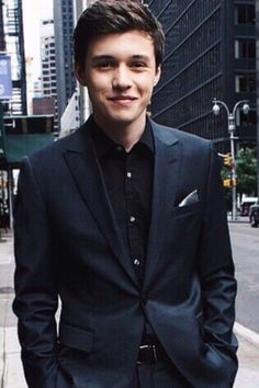 Nick in a suit is all my dreams come true