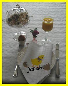 Jaliska: Paas servet bedrukt met Flex- en Flockfolie