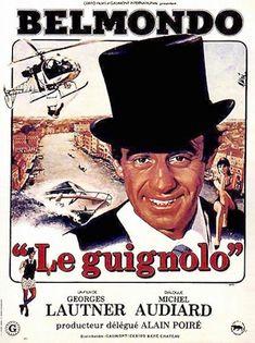 affiche film jean-paul belmondo - le guignolo